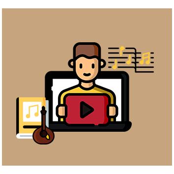 Material de Estudo em Vídeo e Partitura